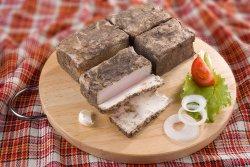 Вареное сало - закуска по-украински