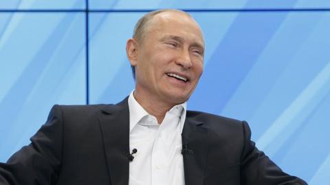 Путин пошутил о своем почерк…