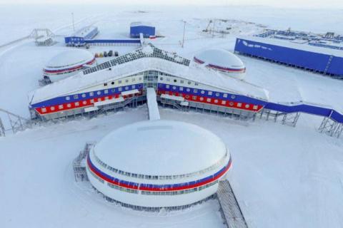 Россия показала военную базу…