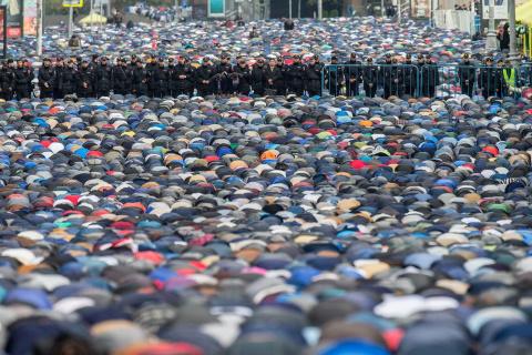 «Москва наша, Альхамдулиллах…