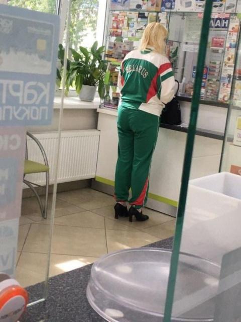 Суровые белорусские модники