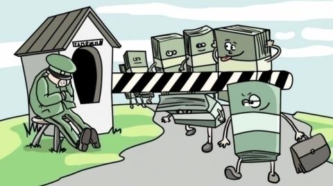 Отток капиталов или вся пане…