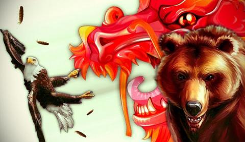 The Conversation: призрачный выбор США между русским медведем и китайским драконом