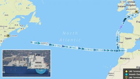 Развернулся и назад: почему российский газ не дошел до США