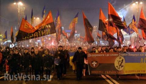 Дневник киевлянки: кто на факельное шествие в честь Бандеры, кто в Москву
