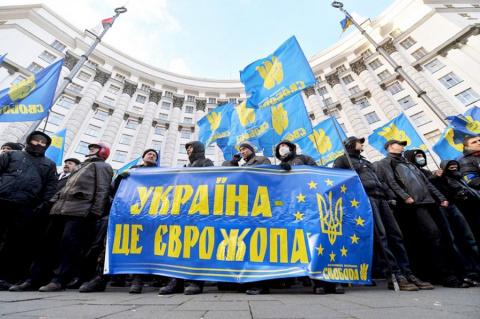 Украинские европейцы: звучит смешно, а выглядит еще смешнее. Yurasumy