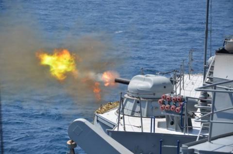 Украинские военные катера об…