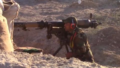 В Сирии гранатомет СПГ-9 пре…