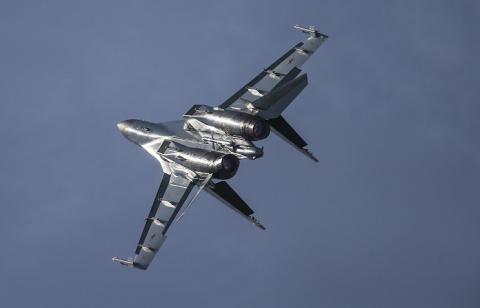 Новейшие истребители Су-35 пополнят эскадрилью в Карелии