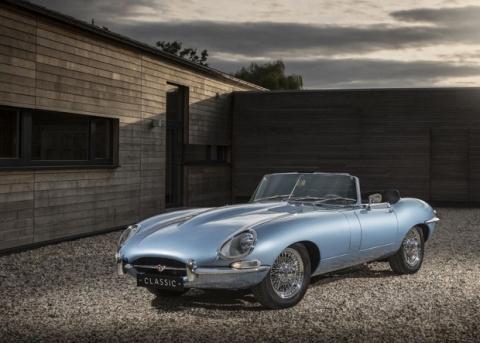 Jaguar превратил классическую модель E-type в электромобиль