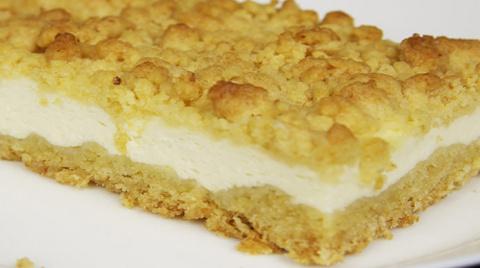 Вкуснейший творожный пирог с…