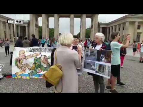 В Германии прошла акция в поддержку жителей Донбасса