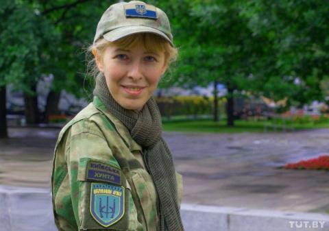 Женское лицо войны на Донбассе