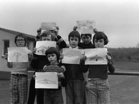 40 лет назад группа детей из английской школы видела НЛО