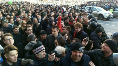 Акция Навального: Как школот…