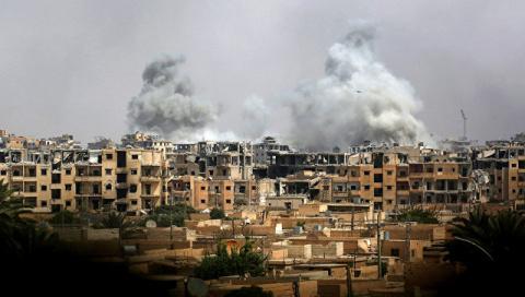 В Минобороны заявили, что коалиция США в Сирии действует незаконно