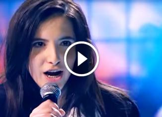 Ты супер!»: Карина Исмаилова, 15 лет. Очаровала всех своим выступлением