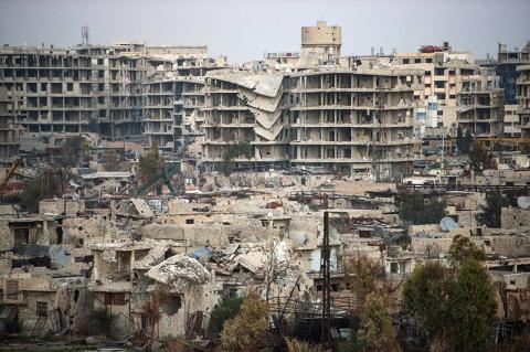 Посольство РФ в Сирии подвер…