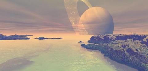 На поверхности Титана может присутствовать жизнь в незнакомых нам формах