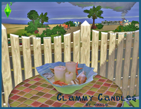 Clammy Candles by Tinkle