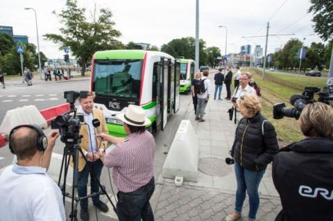 Таллинские беспилотные автобусы