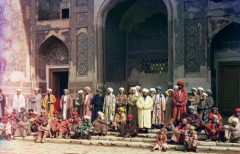 Самарканд и его жители: цветные фотографии Прокудина-Горского, сделанные до 1917 года