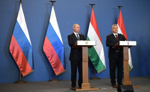 Российско-венгерские переговоры