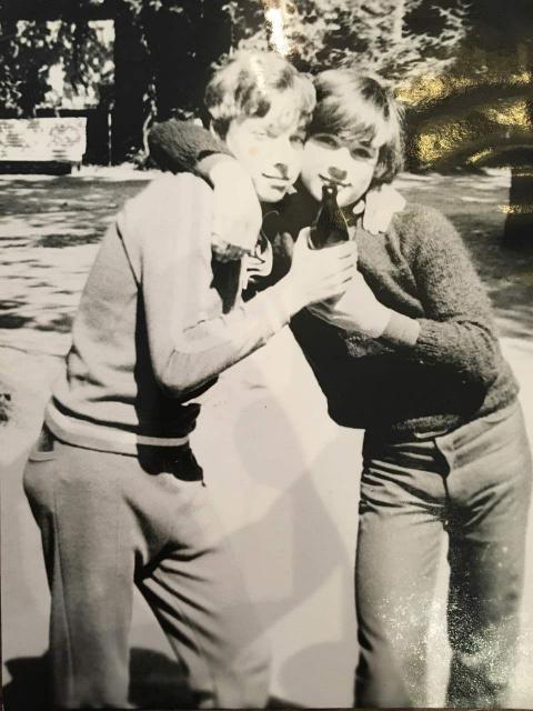 ~1979 Брушко Дима и Андрей Шавер.