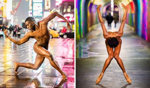 Обнаженные танцоры балета сн…