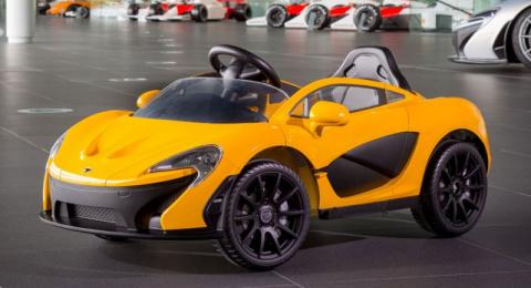 McLaren выпустил мини-суперк…