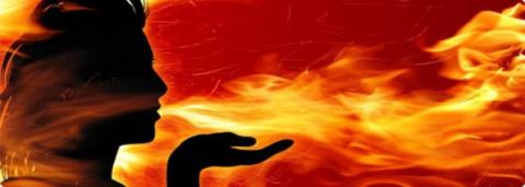 Горим ясным пламенем