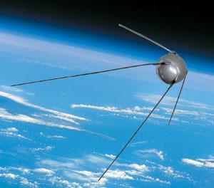 Первый спутник наш!  И.Афанасьев. «Новости космонавтики»