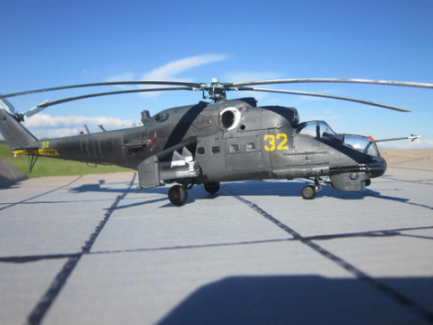 «Летающий танк» Ми-24П для с…