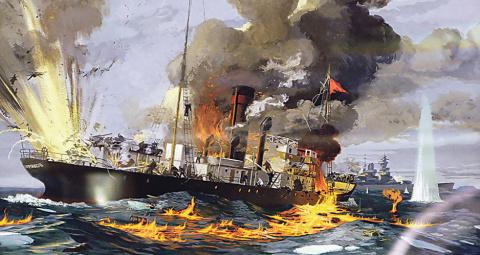 Ледокол против крейсера — часть I