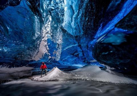 Потрясающие фотографии ледян…