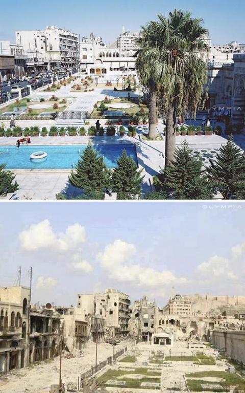 """Алеппо. До и после """"Арабской весны""""."""