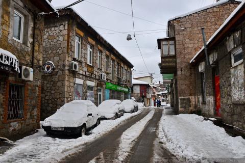Старая Ялта в снегу. АССА вернулась
