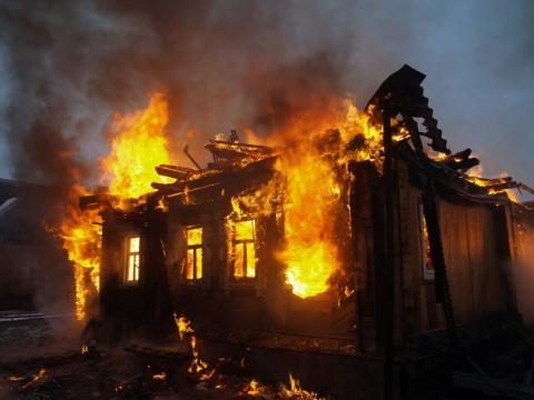 В Дагестане пожар уничтожил 20 домов