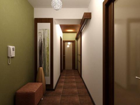 Как сделать узкий коридор ую…
