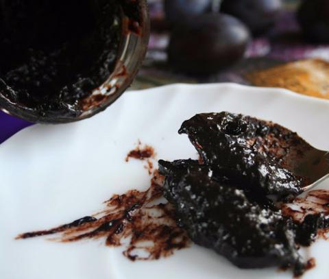 Сливовая или абрикосовая  паста с какао
