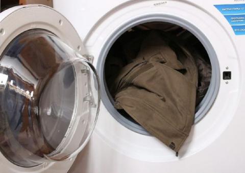 Как стирать и сушить пуховик…