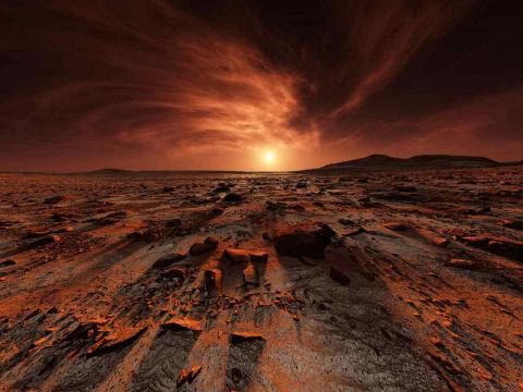 Даёшь марсианский антрацит! Андрей Князев
