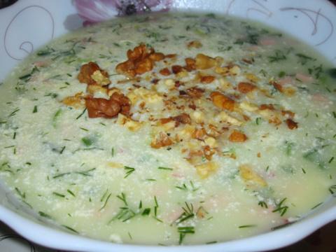 """Холодный суп """"Таратор"""""""