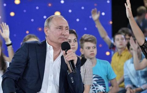 Путин и молодёжь. Андрей Бабицкий