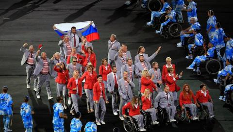 Белорусские спортсмены несли…