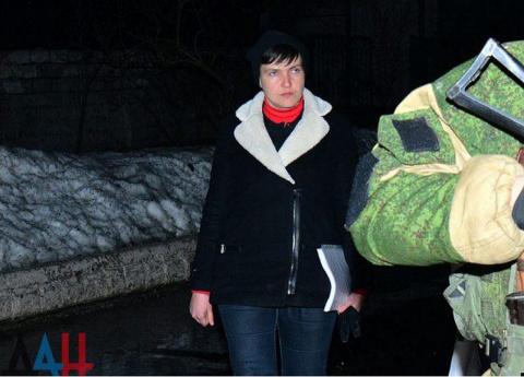 Визитом в ДНР Савченко провоцирует свой арест на Украине
