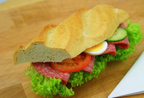 Как делают бутерброды в Германии.Фото-рецепт.Olga Dell