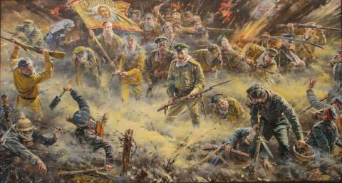 Воспоминания немцев о солдатах Красной Армии