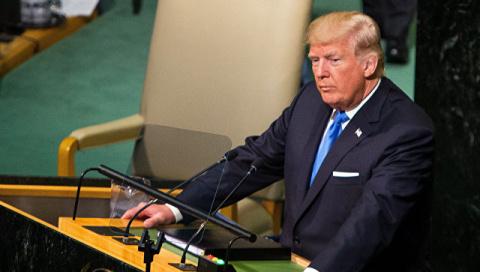 Трамп ответил на речь главы …