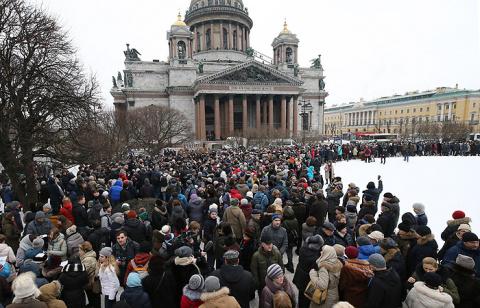 """""""Рассерженные белорусы"""" пошли на Лукашенко Маршем"""